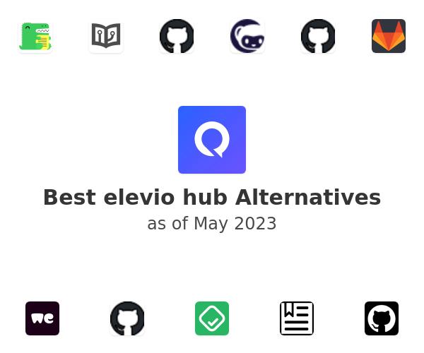 Best elevio hub Alternatives