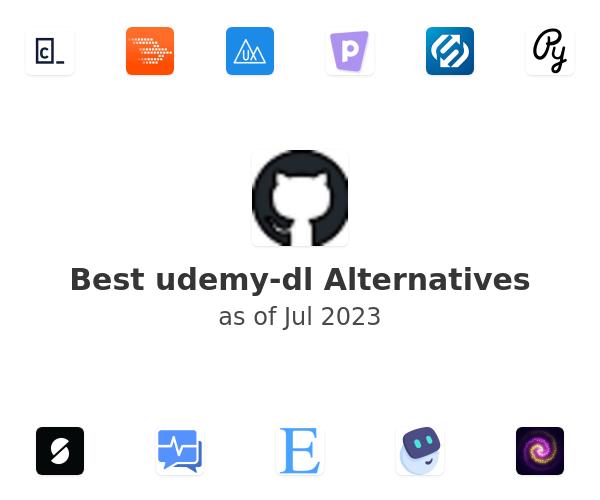 Best udemy-dl Alternatives