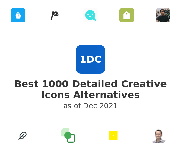 Best 1000 Detailed Creative Icons Alternatives