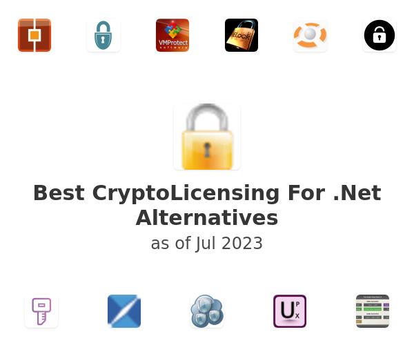 Best CryptoLicensing For .Net Alternatives