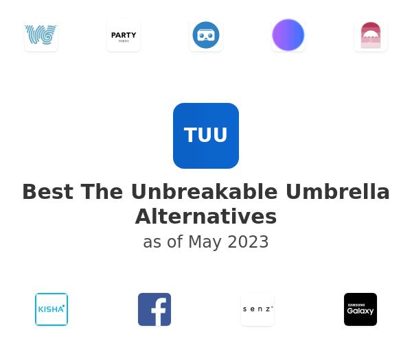 Best The Unbreakable Umbrella Alternatives