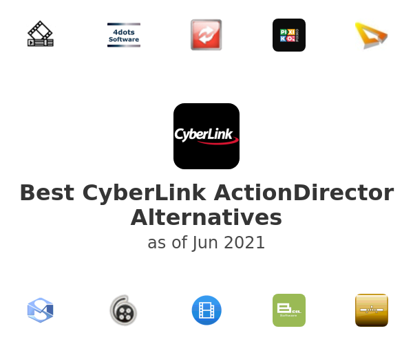 Best CyberLink ActionDirector Alternatives