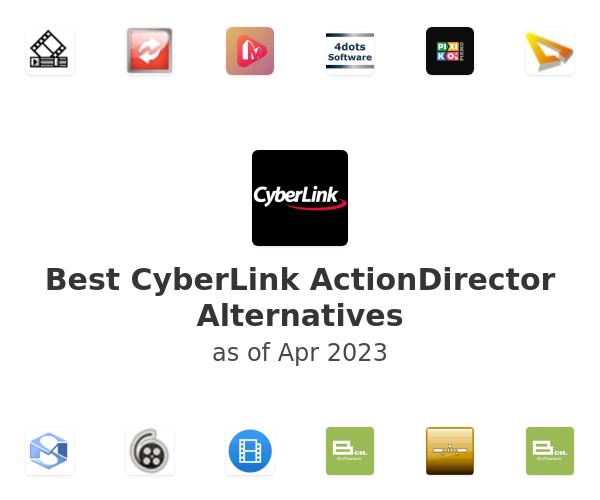 Best CyberLink ActionDirector Alternatives
