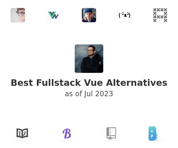 Best Fullstack Vue Alternatives