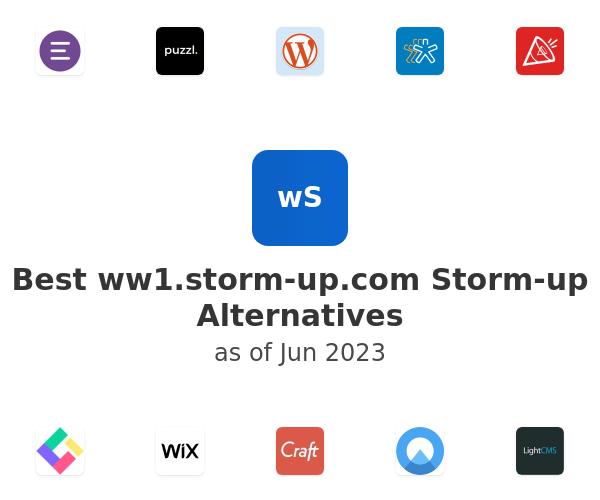 Best Storm-up Alternatives