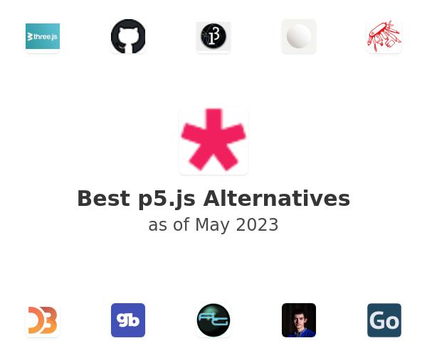 Best p5.js Alternatives