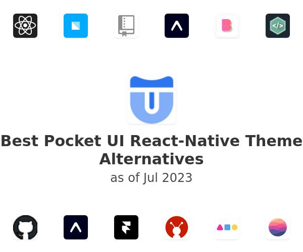 Best Pocket UI React-Native Theme Alternatives