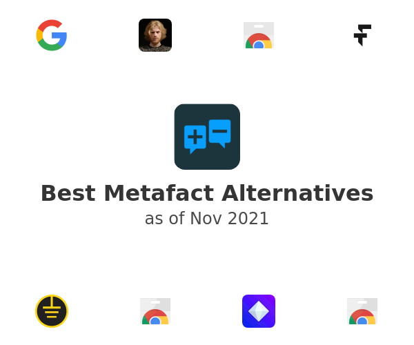 Best Metafact Alternatives