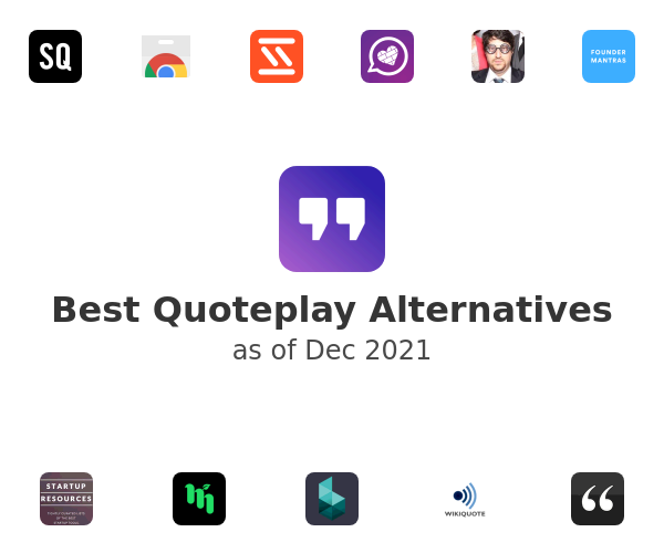 Best Quoteplay Alternatives