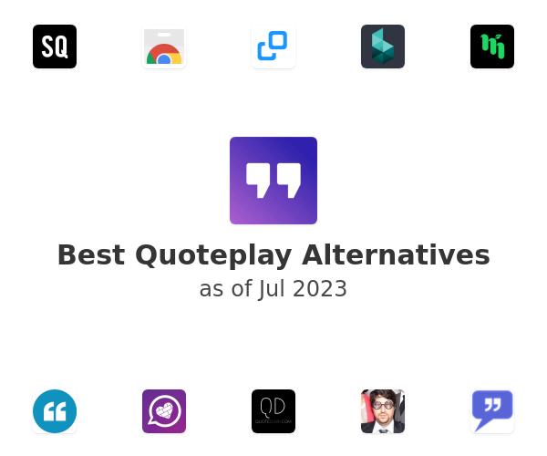 Best Quoteplay Alternatives