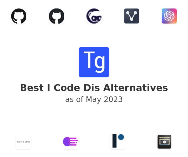 Best I Code Dis Alternatives