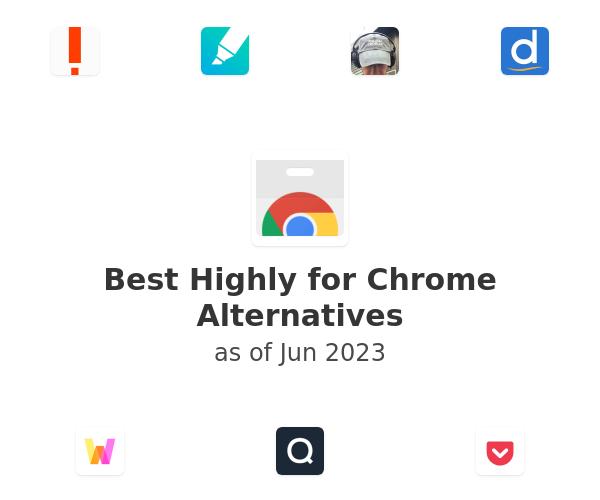 Best Highly for Chrome Alternatives