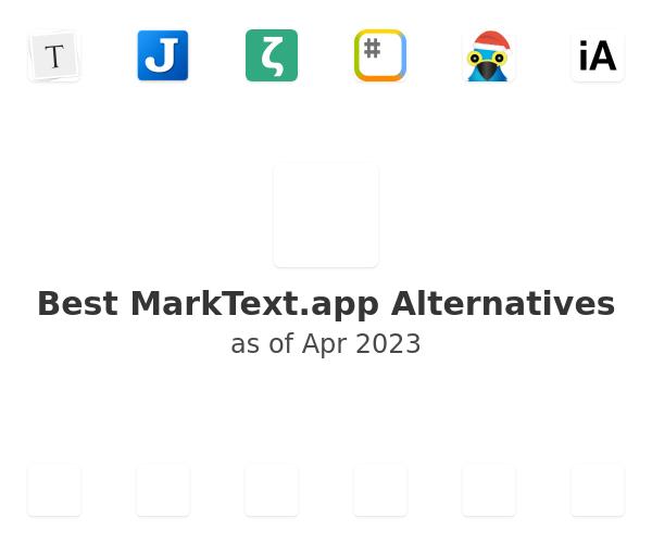 Best Mark Text Alternatives