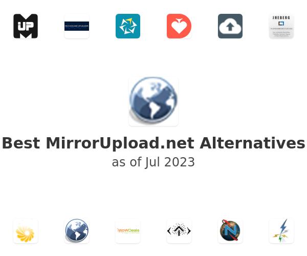 Best MirrorUpload.net Alternatives
