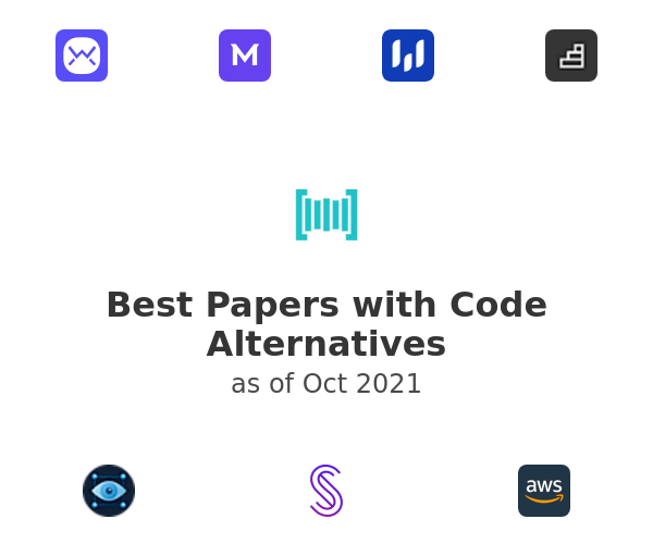 Best Papers with Code Alternatives