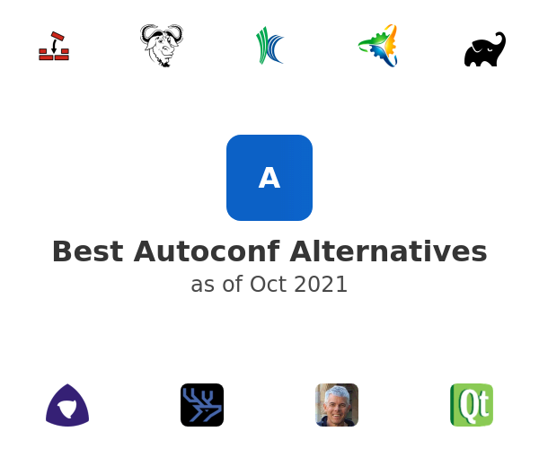 Best Autoconf Alternatives