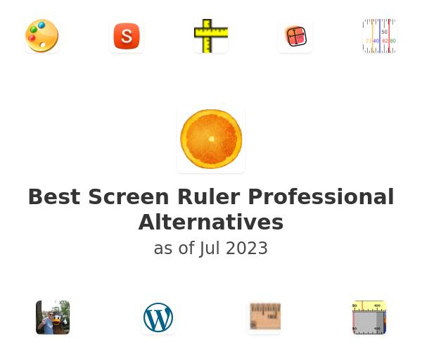 Best Screen Ruler Professional Alternatives