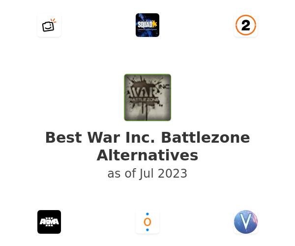 Best War Inc. Battlezone Alternatives