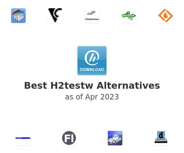 Best H2testw Alternatives