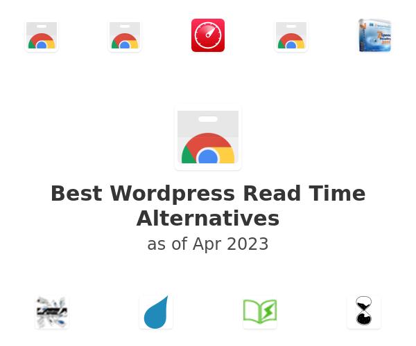 Best Wordpress Read Time Alternatives