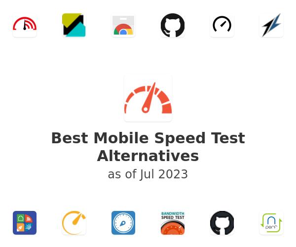 Best Mobile Speed Test Alternatives