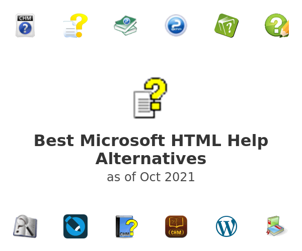 Best Microsoft HTML Help Alternatives