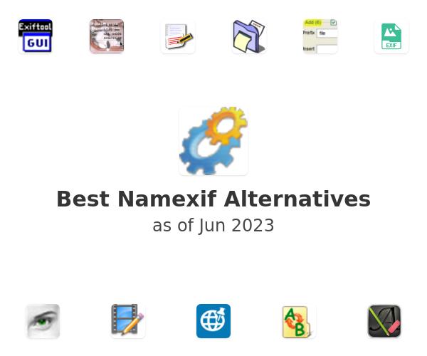 Best Namexif Alternatives