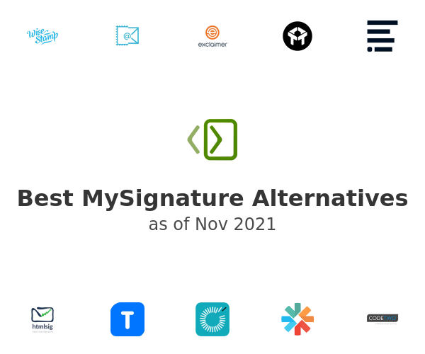 Best MySignature Alternatives