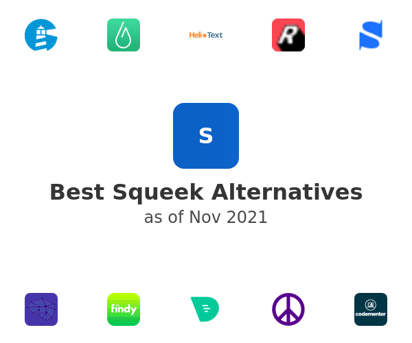 Best Squeek Alternatives