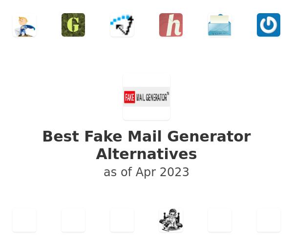 Best Fake Mail Generator Alternatives