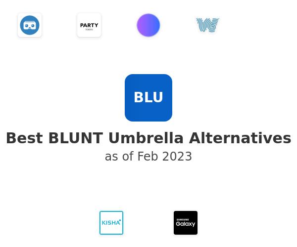 Best BLUNT Umbrella Alternatives
