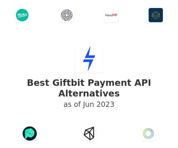 Best Giftbit Payment API Alternatives