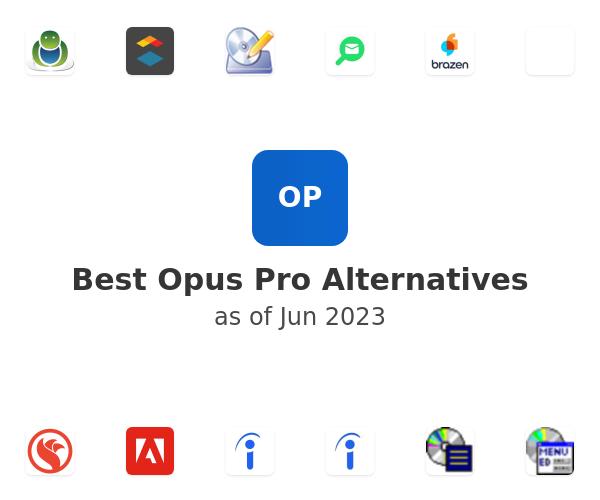 Best Opus Pro Alternatives