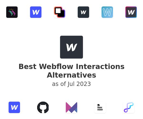 Best Webflow Interactions Alternatives