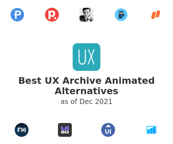 Best UX Archive Animated Alternatives