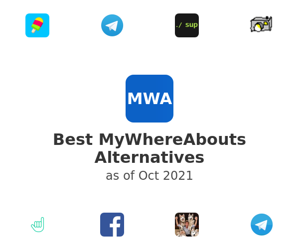 Best MyWhereAbouts Alternatives