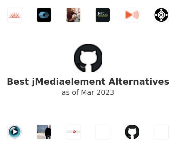 Best jMediaelement Alternatives