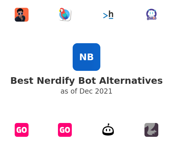 Best Nerdify Bot Alternatives