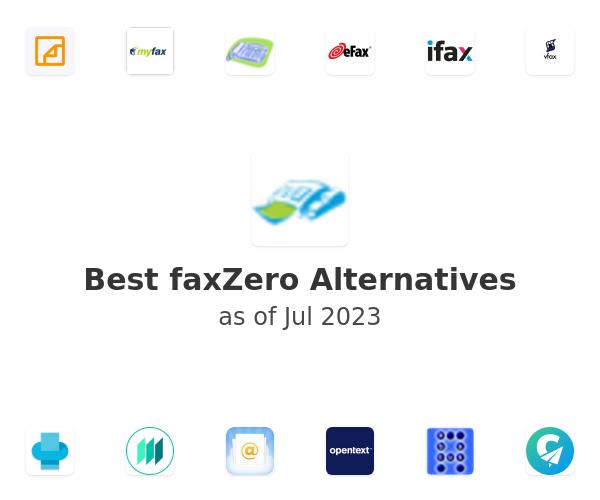 Best faxZero Alternatives