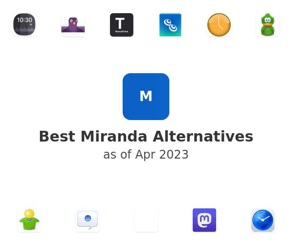 Best Miranda Alternatives