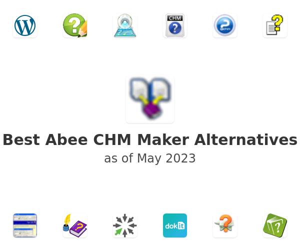 Best Abee CHM Maker Alternatives