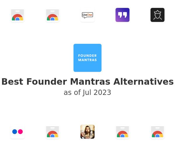 Best Founder Mantras Alternatives
