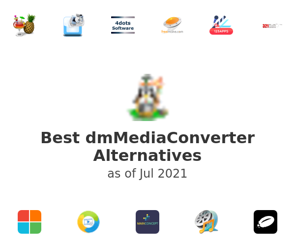 Best dmMediaConverter Alternatives