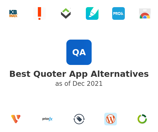 Best Quoter App Alternatives