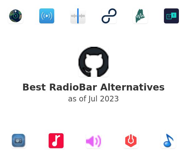 Best RadioBar Alternatives