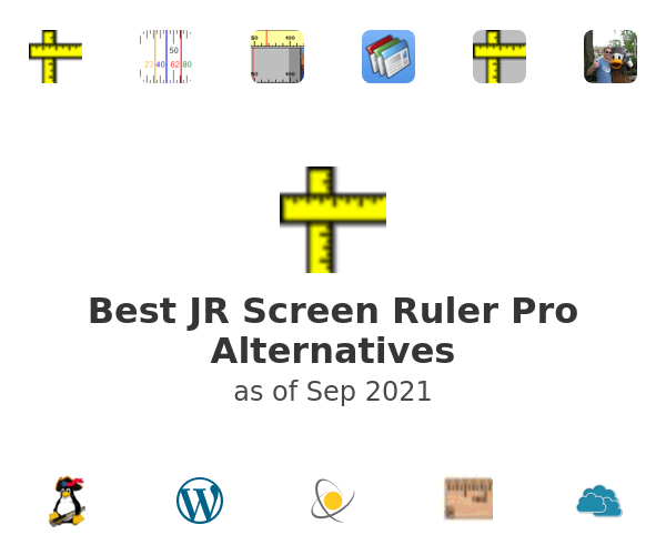 Best JR Screen Ruler Pro Alternatives