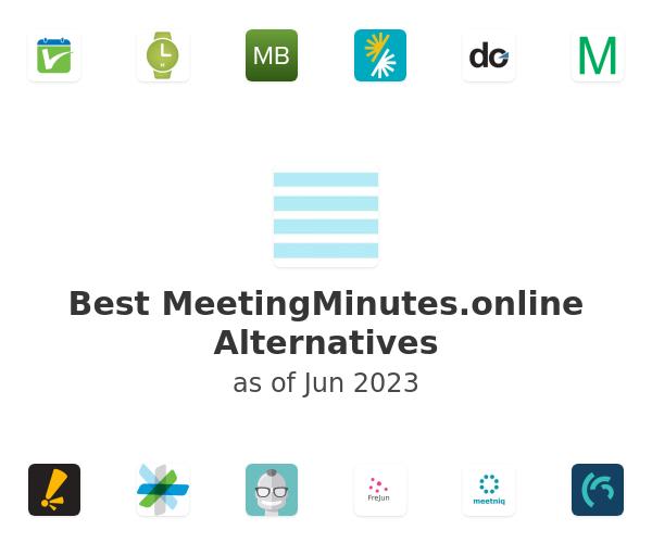 Best MeetingMinutes.online Alternatives