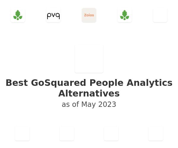 Best GoSquared People Analytics Alternatives