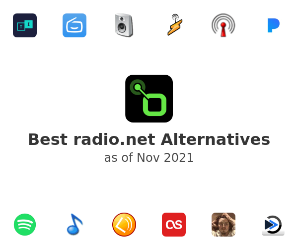 Best radio.net Alternatives