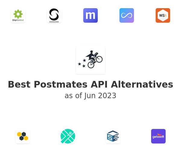 Best Postmates API Alternatives